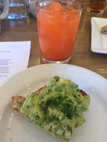 first watch juice and toast