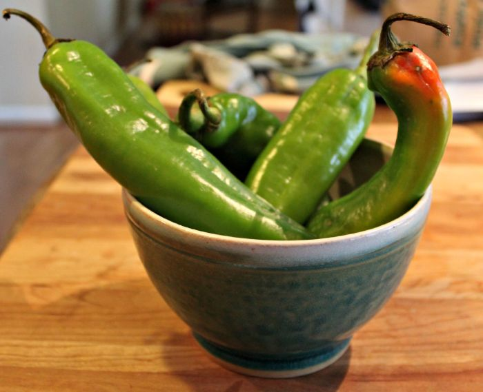 fun with hatch chiles| the cardigan kitchen