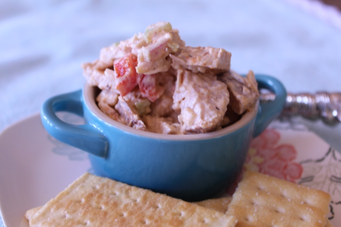 Smoked Turkey Salad from Freckled and Blue {new post}