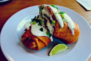 Southwest Crepe at Pauley's Atlanta | The Cardigan Kitchen