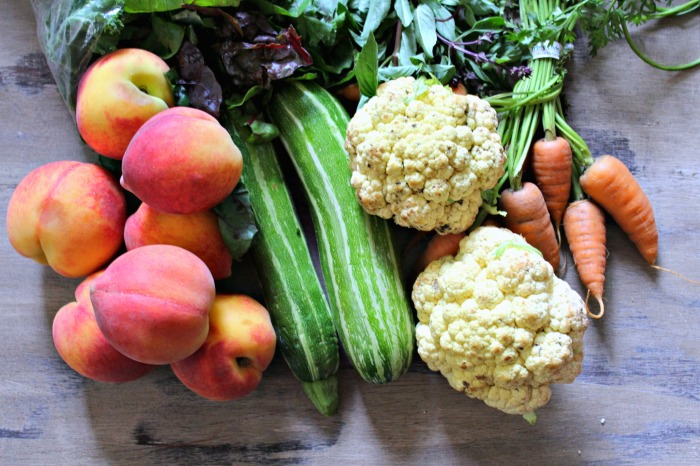 farmers market haul {the cardigan kitchen}
