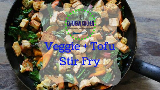 Veggie + Tofu Stir Fry {RECIPE}