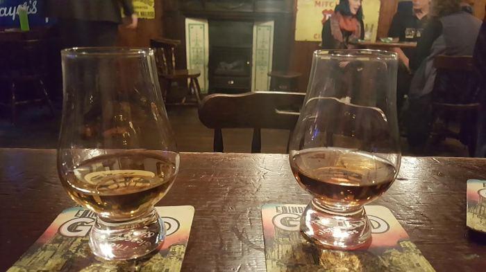 Scotch at the Bow Bar in Edinburgh