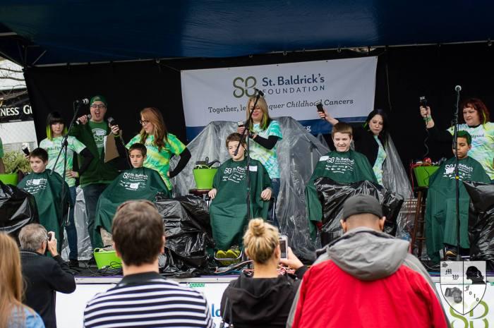 St. Baldrick's Fundraiser at Meehan's